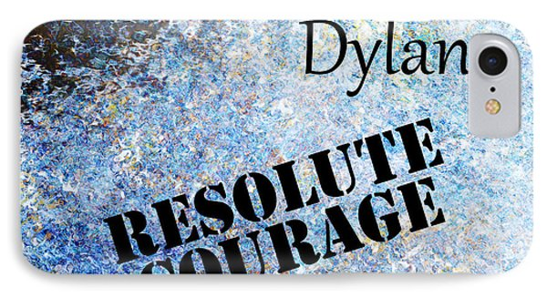 Dylan - Resolute Courage Phone Case by Christopher Gaston