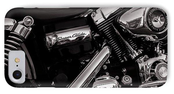 Dyna Super Glide Custom IPhone Case by Bob Orsillo
