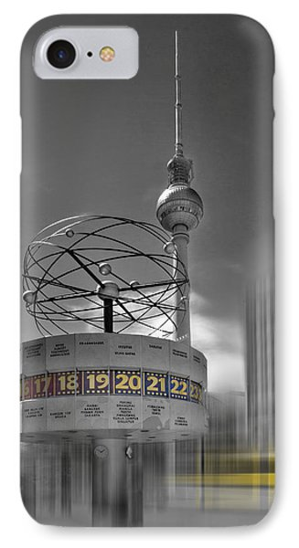 Dynamic-art Berlin City-centre IPhone Case by Melanie Viola