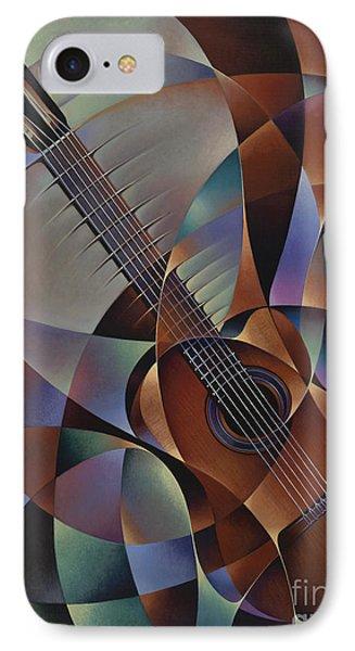 Dynamic Guitar Phone Case by Ricardo Chavez-Mendez