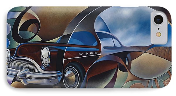 Dynamic Route 66 IPhone Case by Ricardo Chavez-Mendez