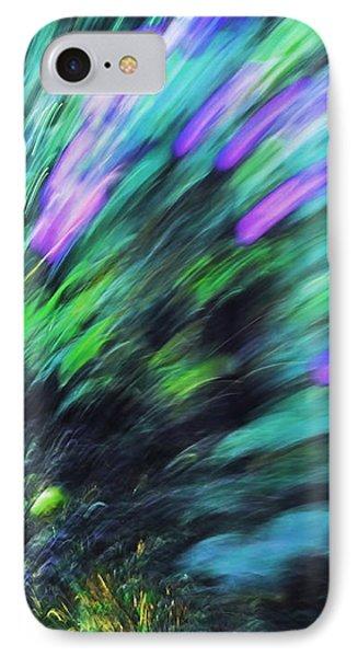 Dynamic Sense Of Life I. Impressionism IPhone Case by Jenny Rainbow