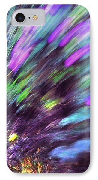 Dynamic Sense Of Life. Impressionism IPhone Case by Jenny Rainbow