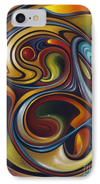 Dynamic Series #15 IPhone Case by Ricardo Chavez-Mendez