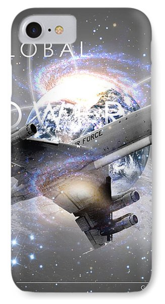 E-8 Joint Stars --- Global Power IPhone Case