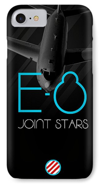 E-8 Joint Stars Blackout IPhone Case