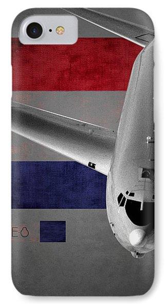 E-8 Joint Stars Flag Spirit IPhone Case