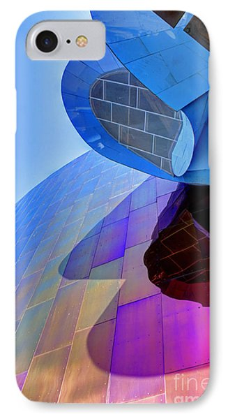 E M P Abstract IPhone Case by Chris Anderson