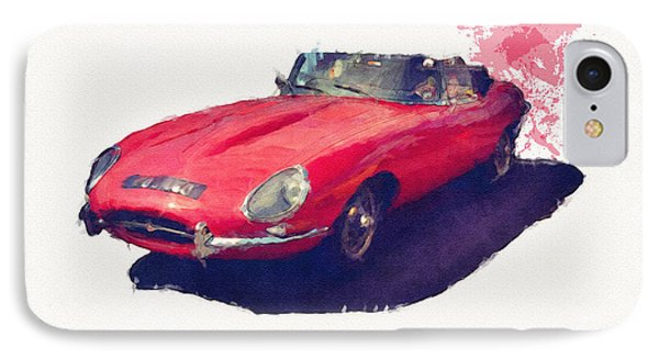 E Type IPhone Case by Roger Lighterness