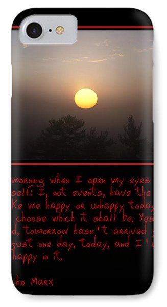 Each Morning Phone Case by Bill Cannon