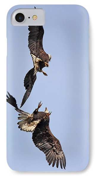 Eagle Ballet IPhone Case by Randy Hall