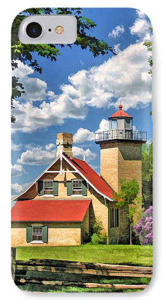 Eagle Bluff Lighthouse IPhone Case