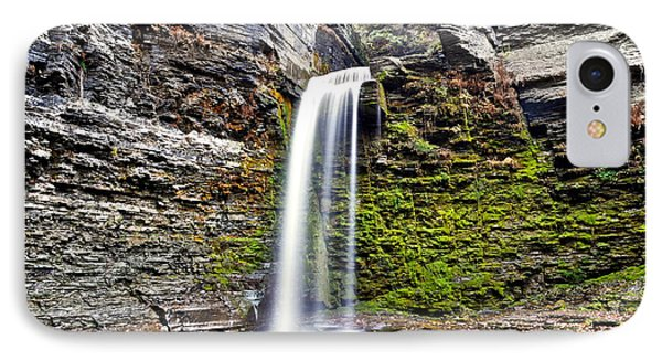 Eagle Cliff Falls Phone Case by Frozen in Time Fine Art Photography