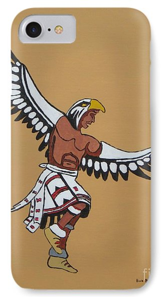 Eagle Dancer Phone Case by Bud  Barnes