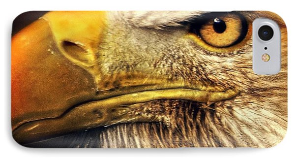 Eagle Eye 7 Phone Case by Marty Koch