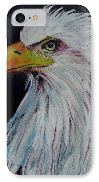 Eagle Eye Phone Case by Jeanne Fischer