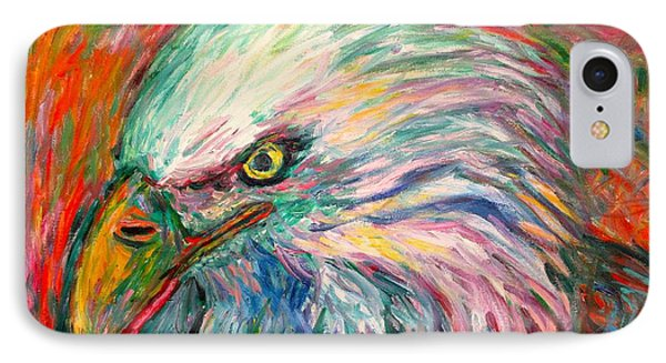 Eagle Fire IPhone Case by Kendall Kessler