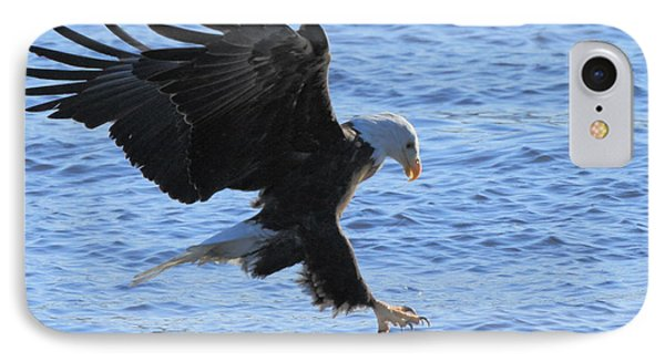 Eagle Grab IPhone Case by Coby Cooper