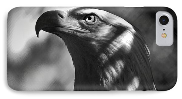 Eagle In Shadows IPhone Case