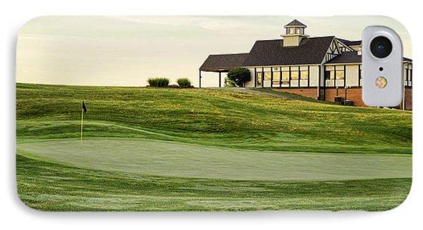 Eagle Knoll Golf Club - Hole Eighteen IPhone Case