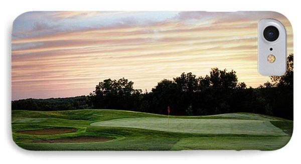 Eagle Knoll Golf Club - Hole Ten IPhone Case