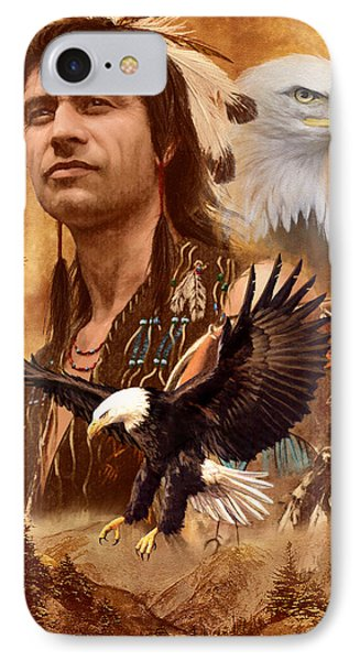 Eagle Montage IPhone Case by Garry Walton