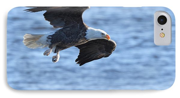 Eagle On The Mississippi IPhone Case by Coby Cooper