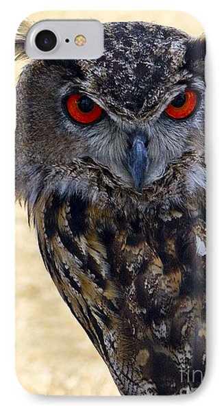 Eagle Owl IPhone Case by Anthony Sacco