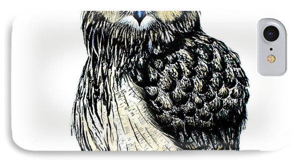 Eagle Owl IPhone Case by Isabel Salvador