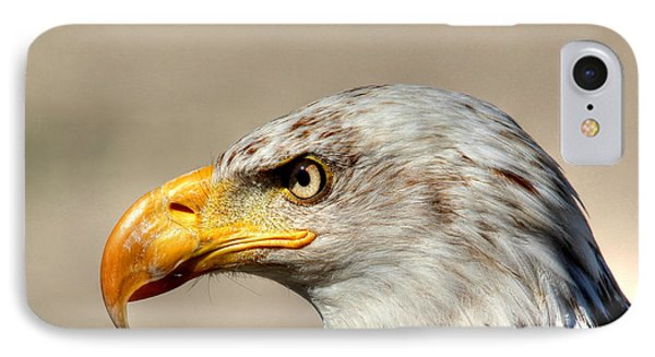 IPhone Case featuring the photograph Eagle Profile by Larry Trupp