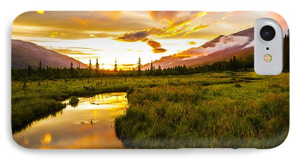 Sunset Valley  IPhone Case by Kyle Lavey