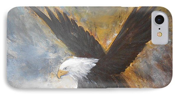 Eagle Spirit 2 IPhone Case by Jane  See