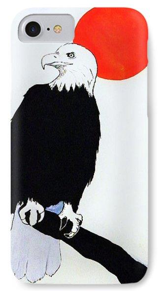 Eagle Sunrise IPhone Case