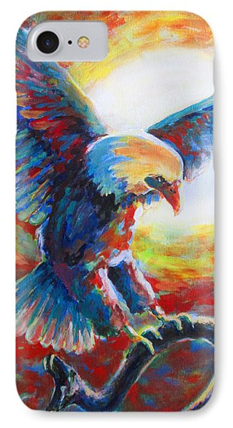 Eagle Takes Charge Phone Case by Tamer and Cindy Elsharouni