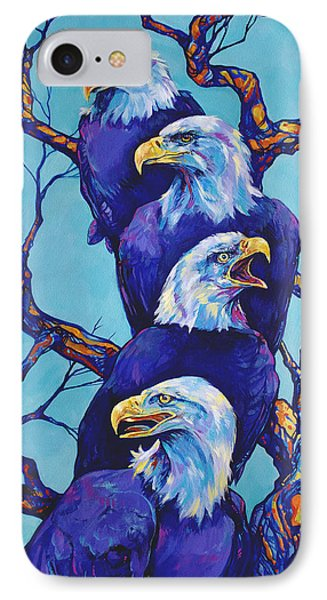 Eagle Tree IPhone Case by Derrick Higgins