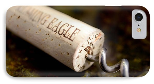 Eagle Uncorked  IPhone Case by Jon Neidert