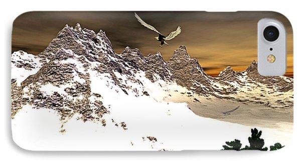 Eagles' Peak IPhone Case