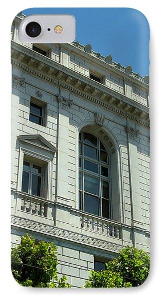 Earl Warren Building - San Francisco IPhone Case by Connie Fox