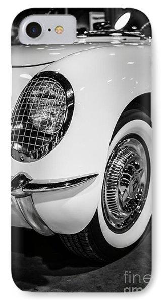 Early 1950's Chevrolet Corvette Phone Case by Paul Velgos