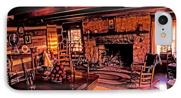 Early American Livingroom IPhone Case by Paul W Faust -  Impressions of Light
