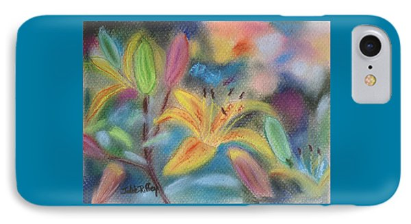 Early Arrival Lily IPhone Case by Julie Brugh Riffey