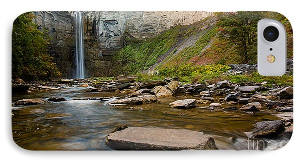 Early Autumn Morning At Taughannock Falls IPhone Case