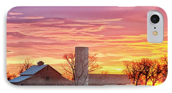 Early Country Morning Sunrise IPhone Case by James BO  Insogna