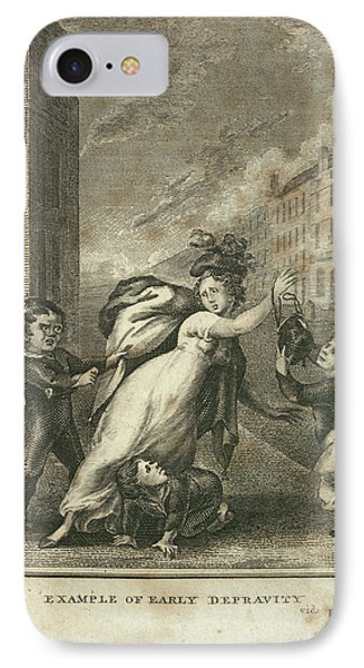 Early Depravity IPhone Case