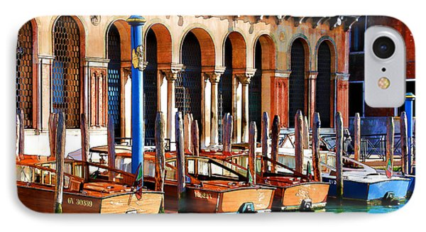IPhone Case featuring the digital art Early Evening Venice by Brian Davis
