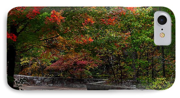 Early Fall At Talimena Park IPhone Case by Robert Frederick