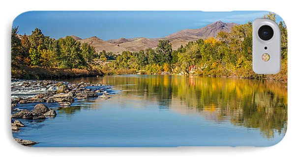 Early Fall On The Payette Phone Case by Robert Bales