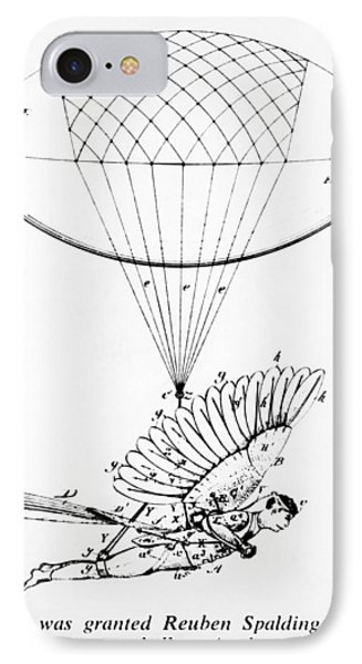 Early Flight Design IPhone Case by Underwood Archives