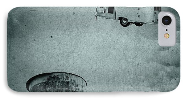Early Historic Airstream Flight IPhone Case by Edward Fielding