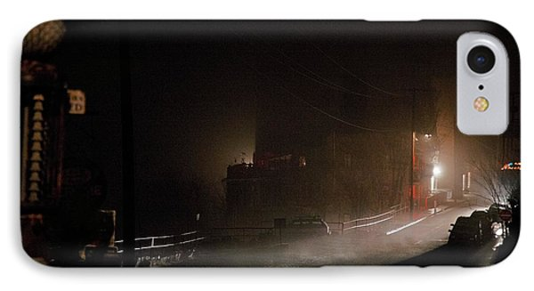 IPhone Case featuring the photograph Early Misty Morning In Jerome Az by Ron Chilston